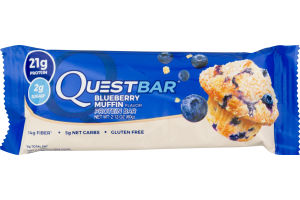 QuestBar Protein Bar Blueberry Muffin