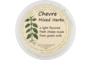 Nettle Meadow Chevre Mixed Herbs