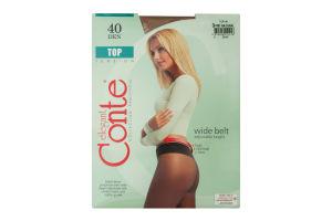 Колготи жіночі Conte Top 40den 3-M natural