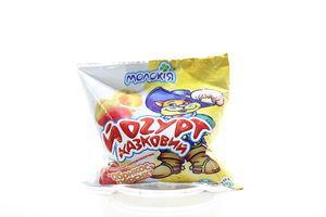 Йогурт Молокия Сказочный абрикос-персик 3% п/э 400г