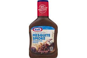 Kraft Barbecue Sauce Mesquite Smoke