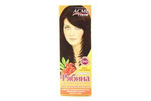 Крем-краска для волос Рябина Темно-каштановый №043 Acme Color