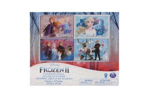 Пазл для дітей від 3років дерев'яний 4в1 №SM98490/6052998 Frozen II Spin Master 96ел