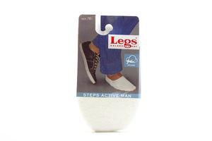 Сліди Legs чоловічі білі 41-45 781