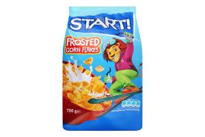 Пластівці кукурудзяні глазуровані Start! м/у 700г