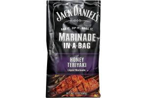 Jack Daniel's Marinade in a Bag Liquid Marinade Honey Teriyaki