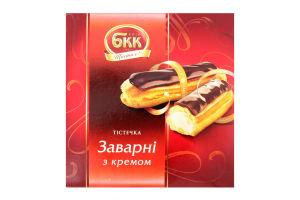 Пирожные с кремом Заварные БКК к/у 0.18кг