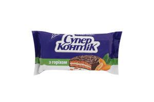 Печенье-сэндвич с орехом Супер-Контик Кonti м/у 100г