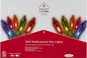 Smart Living 300 Multicolored Mini Lights
