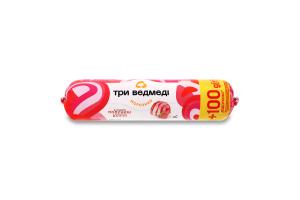 Морозиво 10% Полуниця-ваніль Три ведмеді м/у 600г