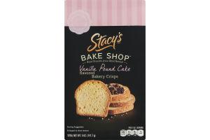 Stacy's Bake Shop Vanilla Pound Cake Bakery Crisps