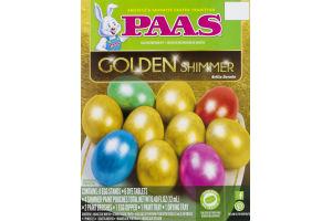 PAAS Egg Decorating Kit Golden Shimmer