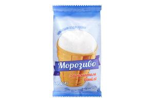 Морозиво 3.5% з ароматом ванілі Ласка м/у 60г