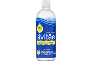 Avitae Caffeine + Water Purfied Water + 90mg Natural Caffeine Unflavored