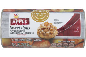 Ahold Sweet Rolls Honeycrisp Apple Inspired - 4 CT