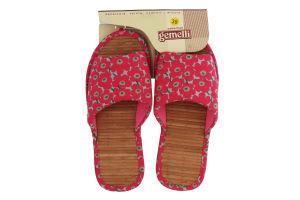 Тапочки комнатные женские Gemelli Лара 5 36-40