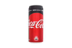 Напиток безалкогольный с/газ Coca-Cola Zero ж/б 0.33л