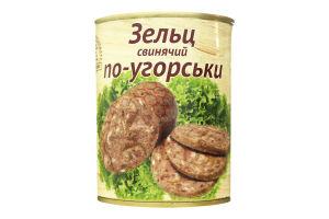 Зельц свиной по-венгерски L'appetit ж/б 340г