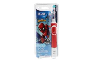 Щітка зубна для дітей від 3років електрична 3710 Spider-Man Marvel Oral-B 1шт