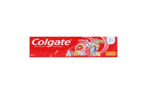 Паста зубная для детей от 2лет со вкусом клубники Доктор Заяц Colgate 50мл