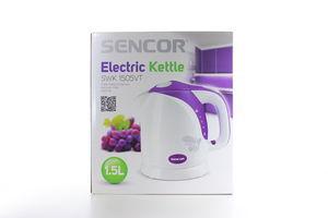 Чайник ел.Sensor SWK 1505VT фіолетовий