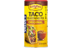 Old El Paso Taco Seasoning Mix Original