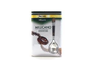 Набір Кава Jacobs Millicano розчинна 140г+банка з ложкою