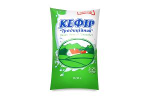 Кефир 3.2% Традиционный Злагода м/у 910г