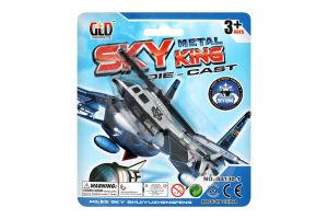 Игрушка Самолет металический 13.5см