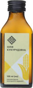 Олія кукурудзяна Лавка традицій холодного віджиму нерафінована, 100 мл