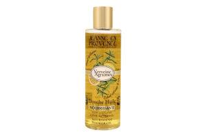 Масло для душа питательное Verveine agrumes Jeanne en Provence 250мл