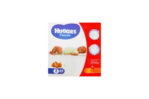 Подгузники Classic Huggies 3-6кг 88шт