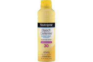 Neutrogena Beach Defense Water + Sun SPF 30 Sunscreen Spray