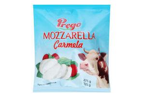 Сир 45% м'який в розсолі Mozzarella Carmela Prego м/у 275г