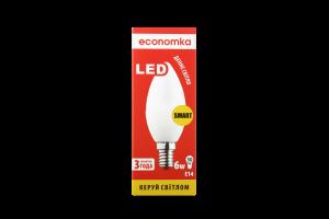 Лампа світлодіодна Economka LED CN 6W E14 4200K 1шт