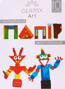 Бумага Gearsy Art двусторонняя