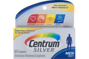 Centrum Silver Multivitamin/Multimineral Supplement Men 50+ - 65 CT