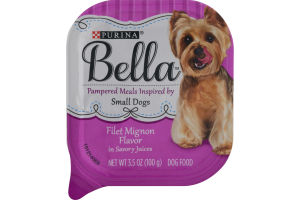Purina Bella Pampered Meals Inspired by Small Dogs Filet Mignon