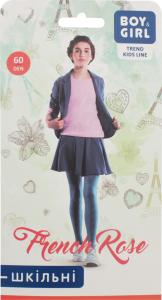 Колготи дитячі Boy&Girl French rose 60den 158-164 grafite