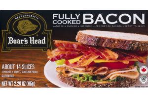 Brunckhorst's Boar's Head Brand Fully Cooked Bacon