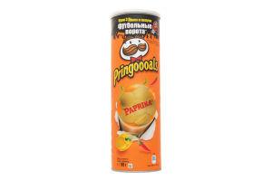 Чіпси картопляні зі смаком паприки Pringles к/у 165г