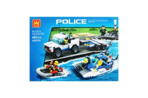Конструктор Полиция 453 эл D1