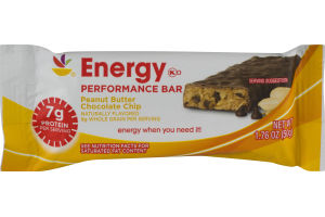 Ahold Energy Performance Bar Peanut Butter Chocolate Chip