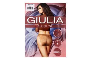 Колготки жіночі Giulia Bikini 20den 2-S cappuccino