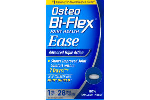 Osteo Bi-Flex Joint Health Ease Dietary Supplement Mini Tablets - 28 CT