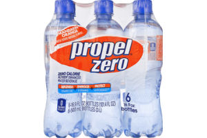 Propel Zero Water Beverage Nutrient Enhanced Zero Calorie Mandarin Orange - 6 PK