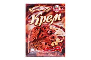 Крем заварний зі смаком шоколаду Добрик м/у 80г