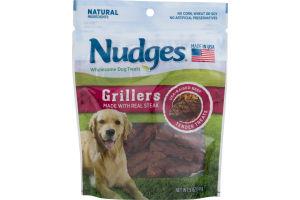 Nudges Dog Treats Grillers Steak