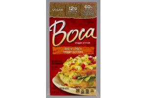 Boca Veggie Protein Patties Spicy Chik'n - 4 CT