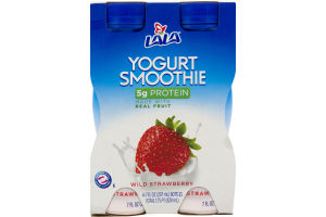 Lala Yogurt Smoothie Wild Strawberry - 4 CT